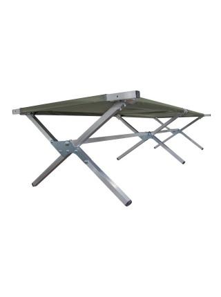 Туристическая кровать раскладушка Брода М 220 Камуфляж
