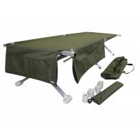Туристическая кровать раскладушка Брода М 170 Хаки