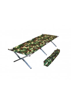 Туристическая кровать раскладушка Брода 210 Камуфляж