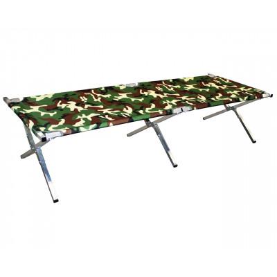 Туристическая кровать раскладушка Брода М 180 Камуфляж
