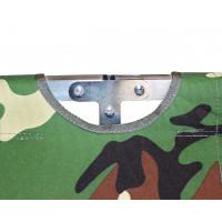 Туристическая кровать раскладушка Брода 190 Камуфляж