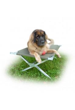 Раскладушка лежак для собаки Брода 110 Хаки